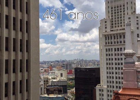 Parabéns São Paulo – 461 anos